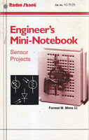 ENGINEER'S MINI NOTEBOOKS sensor projects di Forrest M Mims III Radio Shack 1997