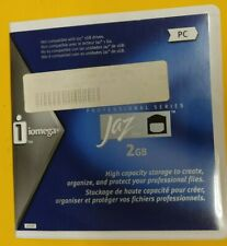 New! Iomega 2GB Jaz Drive Blank Media  For PC