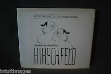 HIRSCHFELD : Art and Recollections from Eight Decades, SIGNED HC w/DJ