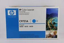 Genuine HP Color LaserJet C9721A Cyan Printer Toner Cartridge for 4600 4610 4650