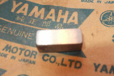 YAMAHA RD250  RD350  RD400  R5  DS7  GENUINE CRANK STRAIGHT KEY - # 256-11546-00
