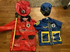 Police And Fireman Role Play Dress-up Preschool Costumes
