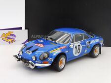 """Kyosho 08485E # Renault Alpine A110 No. 18 """" Rallye Monte Carlo 1973 """" 1:18"""