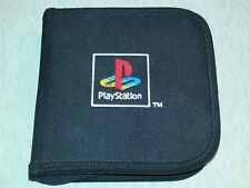 Sony Playstation 1 PS1 Game Disc Wallet with 9 Games Included.