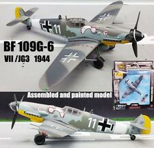 Easy model WWII German Messerschmitt BF109G-6 VII JG3 1944 1/72 diecast plane