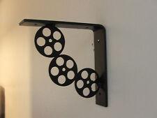 1pair Of Iron Shelf Movie Reel Brackets Supports Custom Made Corbels Corbel