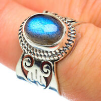 Labradorite 925 Sterling Silver Ring Size 7 Ana Co Jewelry R48061F
