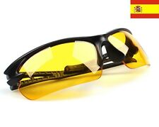 Gafas vision nocturna UV 400 Protección Goggle Noche Visión Amarillo 18