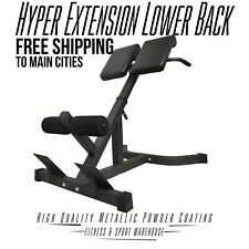 NEW 45 Degree Hyper Extension Lower Back Fitness Gym Exercise Equipment