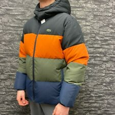 Lacoste Colour Block Down Puffer Jacket, Size Large, BNWT RRP £325!