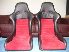 RARE GENUINE PORSCHE RUF 1994 964 SPEEDSTER RACING SEATS OEM BY RECARO!!! RS RSR