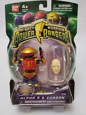 Mighty Morphin Power Rangers Alpha 5 & Zordon Action Figure 2010