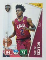 2018-19 Panini Adrenalyn XL Collin Sexton Rookie RC #C75, Cleveland Cavaliers