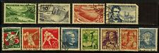 Switzerland #B57-68 Complete Set 1931-33 Used