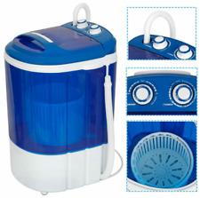 9lbs Portable Compact Washing Machine w/Washer&Spinner,Grav ity Drain Pump Hose