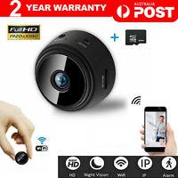1080P HD Mini Wifi Wireless IP Hidden Spy Camera Security Cam Network Monitor AU
