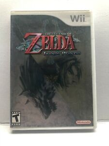 Nintendo Wii - The Legend of Zelda Twilight Princess - Complete w/ Manual Tested