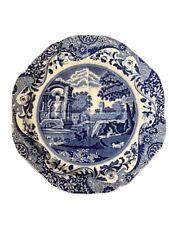 Super RARE Copeland Spode Blue Italian Camilla Divided Serving Plate Platter