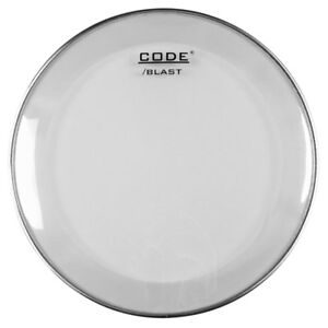 "16"" Code Blast Clear Bass Drum Batter Head // with Kick Patch"