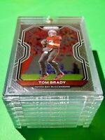 Tom Brady PANINI PRIZM HOT NEW TAMPA BAY FOOTBALL CARD INVESTMENT - Mint!