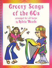 Groovy Songs of the '60s Harp Music Book