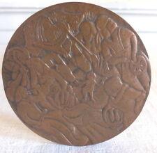 medal bronze santons of provence 1969 Vic Daumas