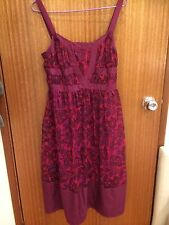 Tokito Myer Floral Print Summer Dress Size 8 As New