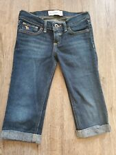 Abercrombie & Fitch Kids Girls long jean Shorts Denim Size 10 school length