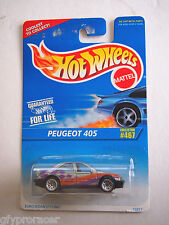 HOT WHEELS  PEUGEOT 405 #467