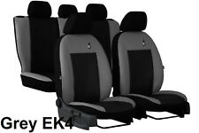 """HONDA ACCORD Mk7 SALOON 2002-2008 ECO LEATHER """"ROAD"""" TAILORED SEAT COVERS"""