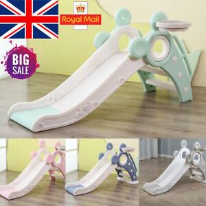 Folding Plastic Slide Playgrounds Climbing Frame Kids Garden Indoor Outdoor Toy