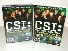 CSI: Crime Scene Investigation -- 3 Dimensions of Murder (PC, 2006) New Sealed