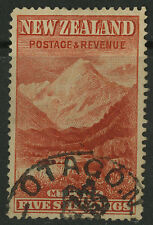 New Zealand   1898   Scott #  83    USED