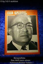 Der Spiegel  37/56 12.9.1956 Itschiro Hatojama
