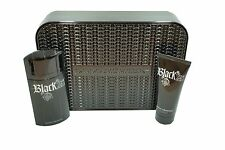 PACO RABANNE BLACK XS 2PC GIFT SET EAU DE TOILETTE SPRAY 100ML+SHOWER GEL NIB