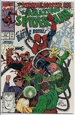 The Amazing Spider-Man #338 Sept. '90 NM Sinister Six Erik Larsen Cover