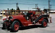 1923 American LaFrance Fire Truck Long Bell CA Factory Photo ca6099