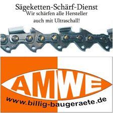 4 Sägeketten Kette schärfen incl.Ultraschallreinigung Automatenschärfung v.Profi