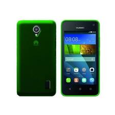 Cover para Huawei Y635, in silicone TPU transparente Verde