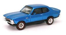 Road Ragers 1972 Holden TORANA LJ GTR - Xu1 Muscle Car in Cyan Metallic H0 1 87