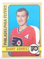 1972-73 Barry Ashbee Philadelphia Flyers 206 OPC O-Pee-Chee Hockey Card P289