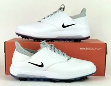Nike Air Zoom Direct Men's Golf Shoes White/Black/Silver 923966-100 Sz 8W