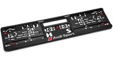 Genuine Audi Sport Number Plate Surround / Holder