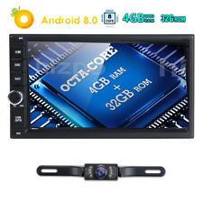 "7"" Android 8.0 4GB 32GB Octa-Core  Car Stereo GPS Navi Radio WiFi&4G DAB TPMS"