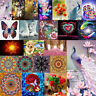 5D DIY Diamond Painting Flower Peacock Embroidery Home Decro Cross Crafts Stitch