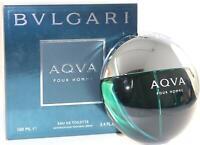 Bvlgari AQVA POUR HOMME Cologne for Men 3.4 oz / 3.3 oz New in Box AQUA