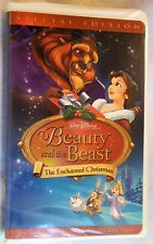 Beauty and the Beast: An Enchanted Christmas (VHS, 2002) Special Edition nice