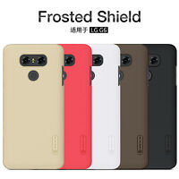 Nillkin Super Frosted Shield Matte 6H Hard Plastic Back Covers Cases For LG G6