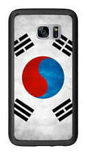 South Korea Grunge Flag For Samsung Galaxy S7 G930 Case Cover by Atomic Market