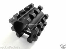 Tactical TriRail Accessory Mount For 12 Gauge Mag Tubes Fits Maverick 88 Shotgun
